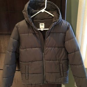 Boys puffer coat size Large (10-12)